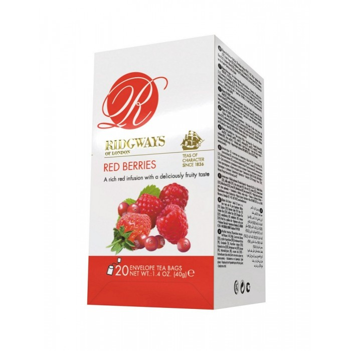 RIDGWAYS INFUSO RED BERRY 20 FL