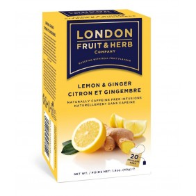 LONDON F&E INFUSO GINGER&LEMON 20 FL
