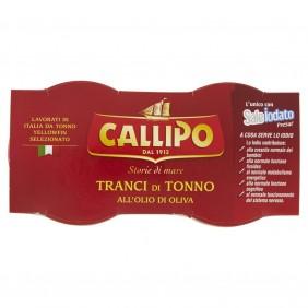 CALLIPO TONNO  VASO GR.80x2