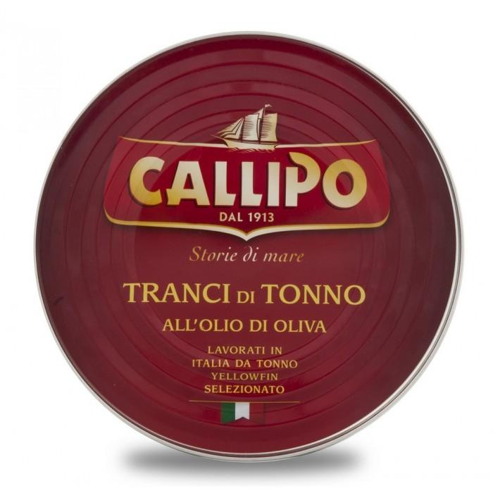 CALLIPO TONNO OLIO DI OLIVA GR.540