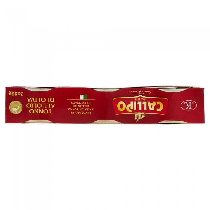CALLIPO TONNO OLIO DI OLIVA GR.80 X 3