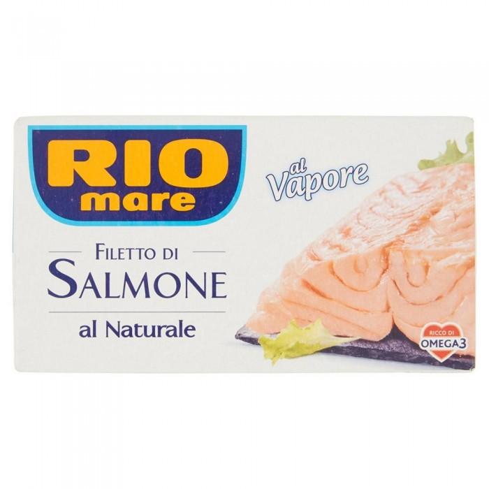 RIO MARE FILETTO DI SALMONE NATURALE GR.150