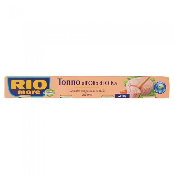 RIO MARE TONNO  OLIO DI OLIVA GR.80 X 4
