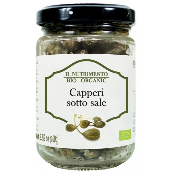 NUTRIMENTO CAPPERI BIO SALE GR.100