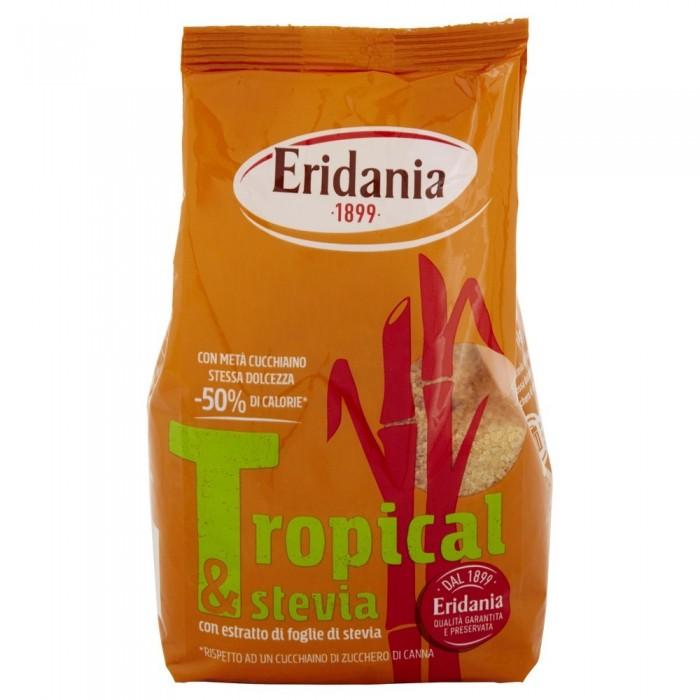 TROPICAL&STEVIA ZUCCHERO DI CANNA GR.500