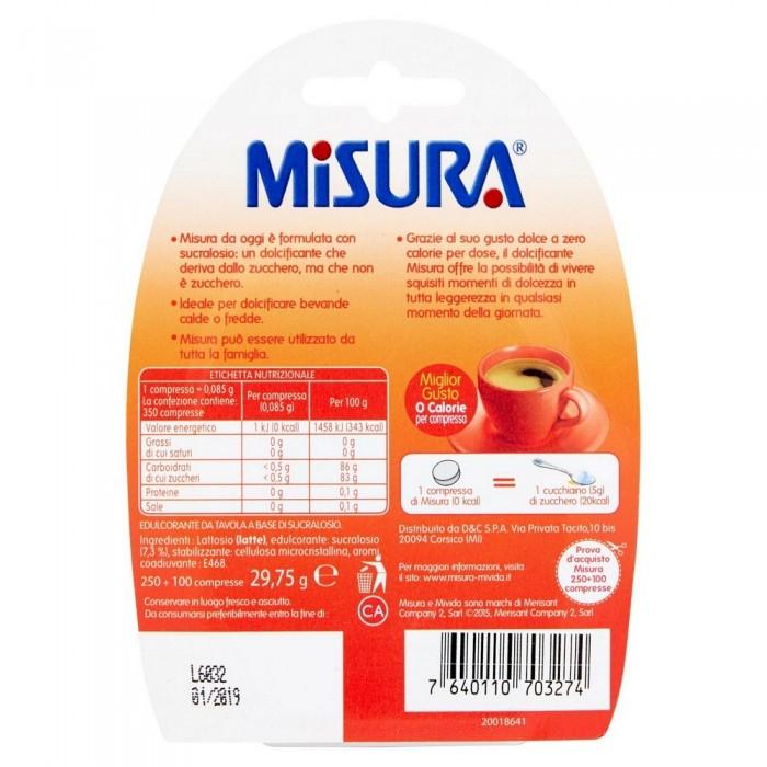 MISURA 350 COMPRESSE